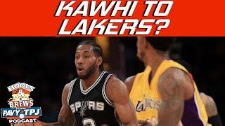 Will The Spurs Trade Kawhi Leonard? | Hoops N Brews