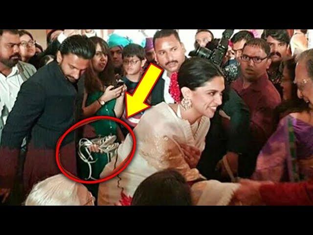 Ranveer Singh UNSEEN Photo Carrying Deepika Padukone's Sandals At A Wedding