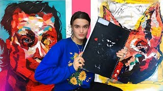 MY A* A-LEVEL ART BOOK || Full Marks Sketchbook Tour (year 1)