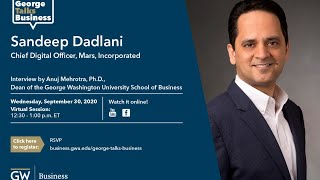 video - George Talks Business with Sandeep Dadlani