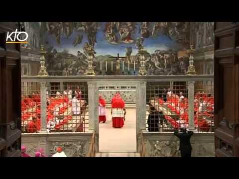 Résumé de l'entrée en Conclave