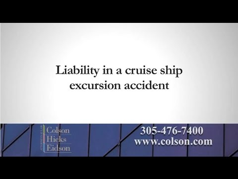 Injured on a Cruise Ship Excursion?