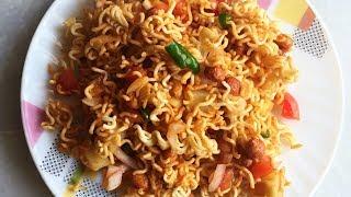 Maggi Bhel | Maggi Bhel recipe | Quick and Easy Maggi Bhel Recipe