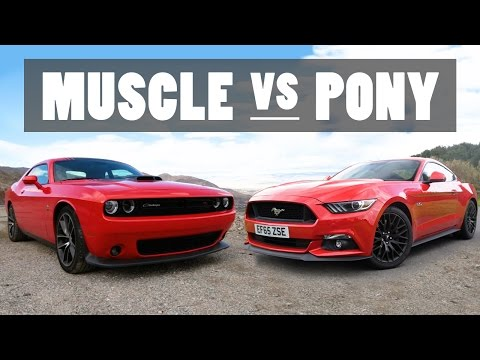 The Differences Between Muscle And Pony Cars