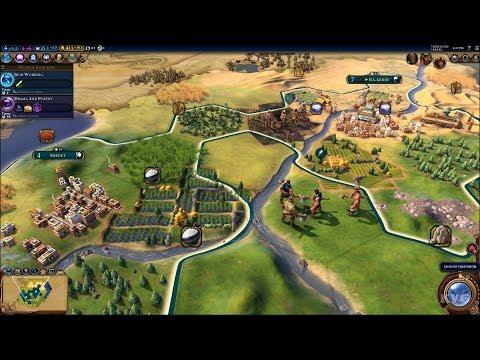 Sid Meier's Civilization VI Gameplay (PC HD) [1080p60FPS]