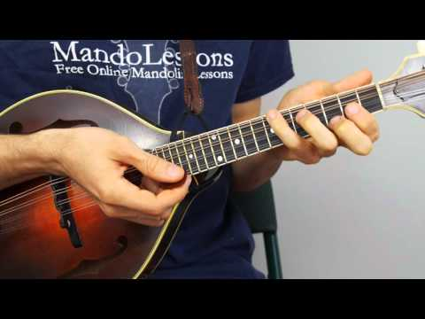 Bluegrass Mandolin Lesson - Part 1: Man Of Constant Sorrow Chords