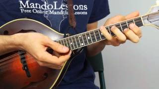 Bluegrass Mandolin Lesson - Part 1: Man Of Constant Sorrow Chords
