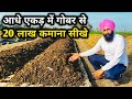 How to make money from Cow Dung?