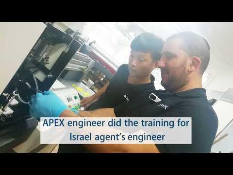 Why they choose APEX UV Printers?