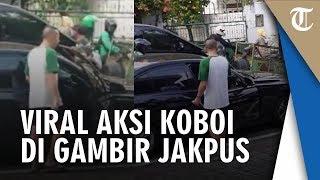 Viral Video Pengemudi Mobil Mewah Lakukan Aksi Koboi Todongan Senjata Api di Gambir