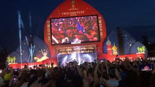 Satisfaction dj Benni Benassi футбол фанзона ЧМ2018 Москва финал