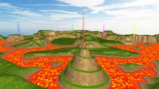 My first 3D game using OpenGL + Glut (Extended)