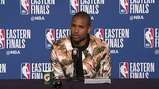 Al Horford Postgame Interview   Celtics vs Cavaliers Game 3 - Video Youtube