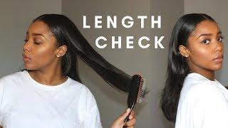 Long Natural Hair Length Check | 2019