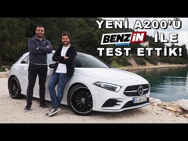 Yeni Mercedes A Serisi Test Sürüşü – Benzin TV Burak Ertem ile test ettik!