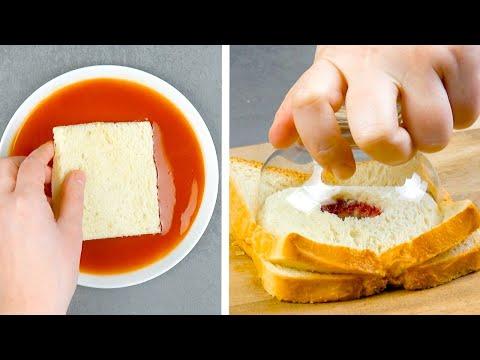 Recipe: Turn Sliced Bread Into 4 Wonderfully Tasty Treats