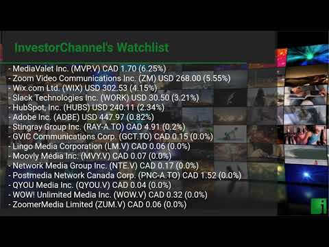 InvestorChannel's Media Watchlist Update for Monday, Augus ... Thumbnail
