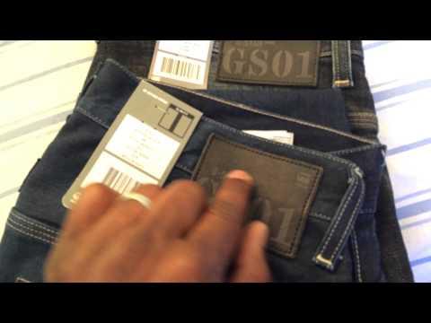 Fake G Star Radar Slim Denim Jeans!