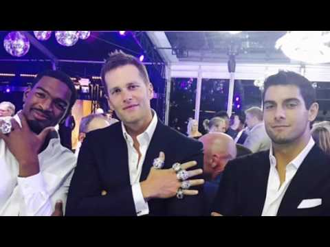 Video of Tom Brady and the New England Patriots 2017 Ring Ceremony