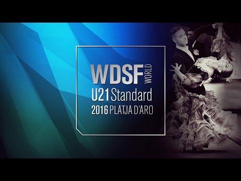 Preview video Castellani - Zaitceva, ITA | 2016 World Under 21 Standard Platja d´Aro | R2 VW | DanceSport Total