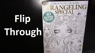 Flip Through | Strangeling Special  - Colouring Heaven Magazine - Issue 39