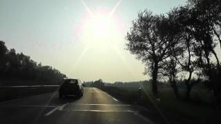 preview picture of video 'Driving On The N12 E50 Between Plérin & Guingamp, Brittany, France 24th May 2012'
