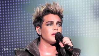 Aftermath - Adam Lambert - HD Live - Sainte Agathe