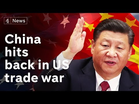 Download China hits back in trade war by raising tariffs on US goods HD Mp4 3GP Video and MP3