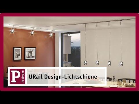 Mit der URail-Lichtschiene LED-Strahler und Pendel in der ganzen  Wohnung verteilen