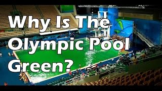 2016 Rio Olympic Pool  Went Green - The Real Reason & Best Explanation