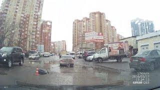 г. Балашиха Микрорайон 1 МАЯ. Ужасные дороги.