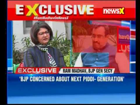 NewsX Exclusive: Ram Madhav on Rahul Vs NaMo