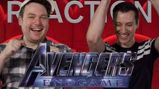 Avengers: Endgame - Trailer Reaction