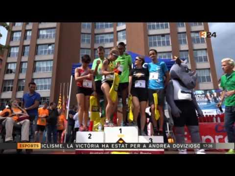 2a Cursa Correos Express Sant Adrià TV3 04/06/17
