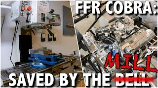 Factory Five Cobra: How my lathe & mill bailed me out!