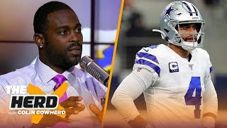 Michael Vick joins Colin to talk Dak's struggles and Lamar Jackson's regression | NFL | THE HERD