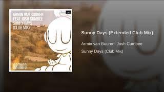 Armin Van Buuren   Sunny Days (Extended Mix)