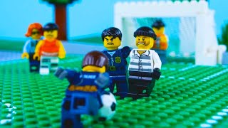 LEGO Football STOP MOTION LEGO Football: Brick World Cup | LEGO Police vs Crooks | By Billy Bricks