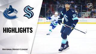 Canucks @ Kraken 9/26/21   NHL Highlights