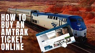 How To Buy An Amtrak Train Ticket Online | Step by Step Tutorial