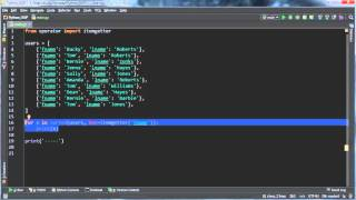Python Programming Tutorial - 55 - Dictionary Multiple Key Sort