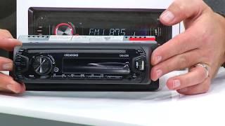 Creasono MP3-Autoradio USB/SD 4 x 25 W