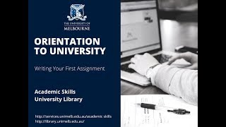 Orientation - Writing your first assignment