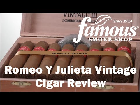 Romeo Y Julieta Vintage video