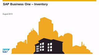 SAP Business One – Inventory