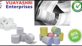 Thermal Paper Rolls In Hyderabad |Vijayashri Enterprises |manufacture and supplies