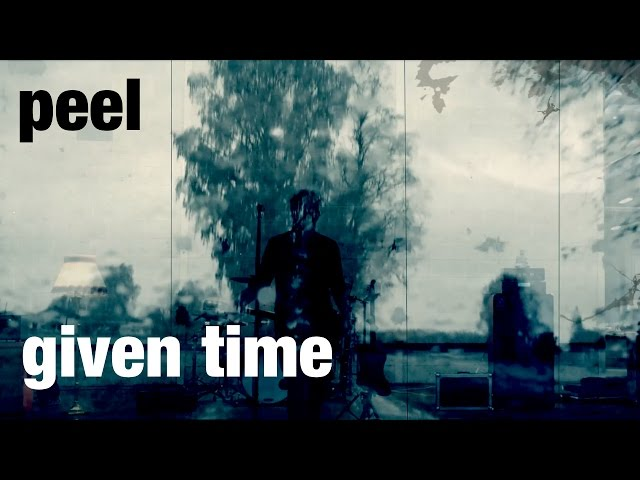 Peel – given time
