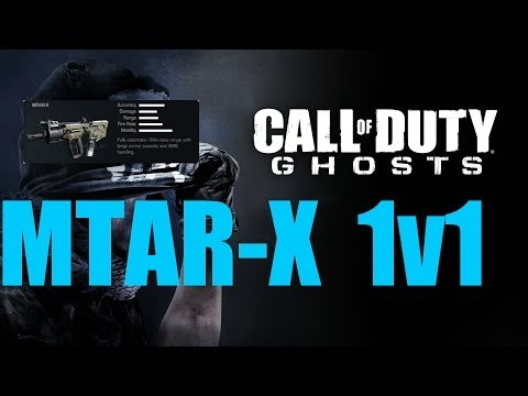 MTAR-X 1v1 CoD Ghosts Commentary
