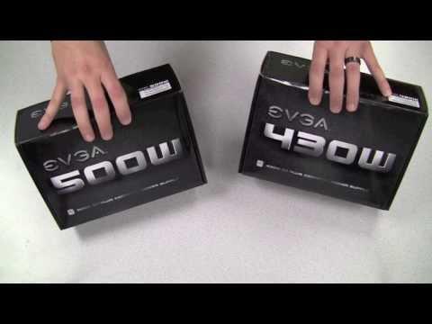 EVGA 500W/430W Power Supplies!