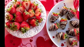 Easy Chocolate Dipped Strawberries With Microwave